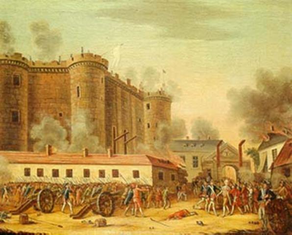 Fall of Bastille