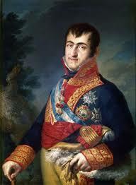 Fernando VII trata de evitarlo...