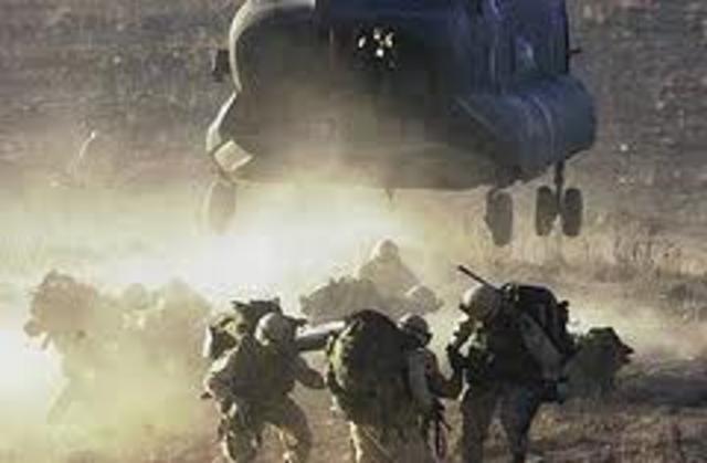 U.S. and Afghan Troops