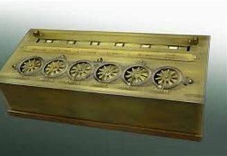 Primeira calculadora