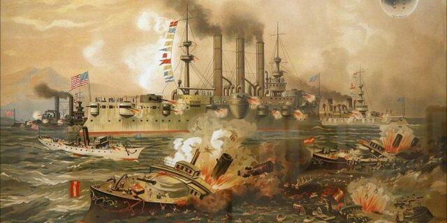 Comienzo de la Guerra hispano-norteamericana.