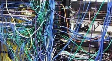Rede de computadores por fio