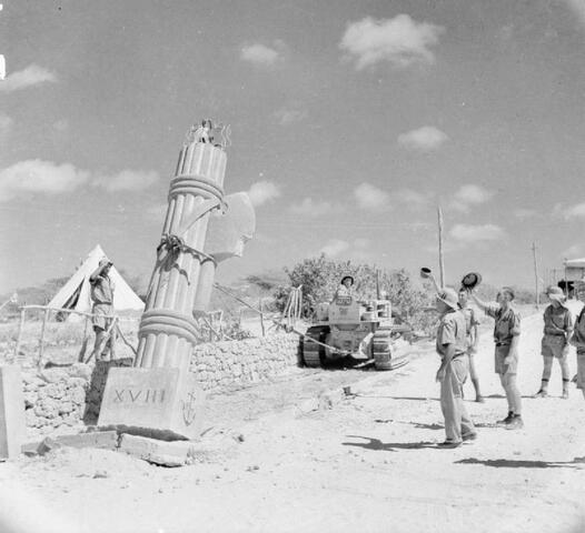Gli italiani abbandonano la maggior parte del territorio etiopico in favore delle truppe britanniche