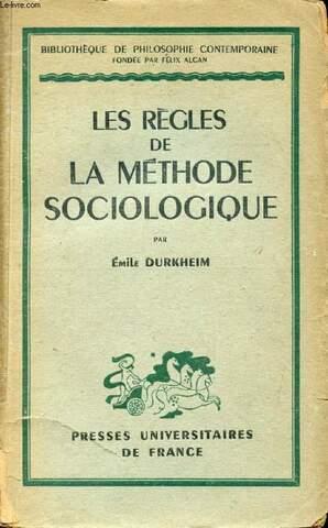 El estudio científico de los hechos sociales