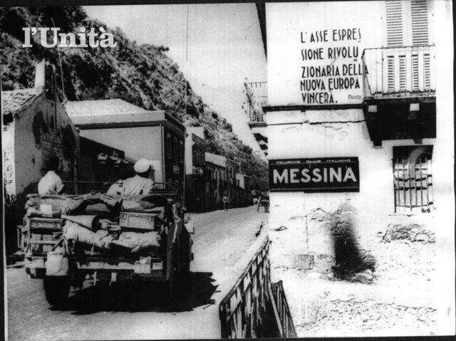 Gli Alleati entrano a Messina e completano l'occupazione della Sicilia