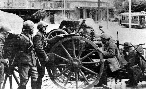 """Il territorio italiano viene dichiarato dai tedeschi """"Territorio di Guerra"""""""