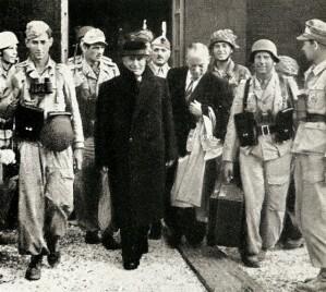 Mussolini viene liberato