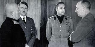 Cinque gerarchi fascisti vengono processati e condannati a morte (tra cui Galeazzo Ciano, Ministro degli esteri)