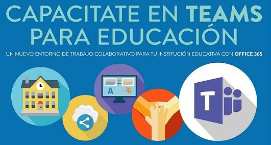 Capacitación y uso de plataforma TEAMS para los docentes
