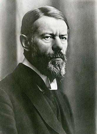 análisis de Max Weber