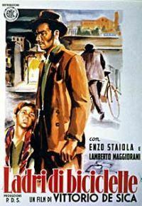 Esce il film 'Ladri di biciclette' di Vittorio De Sica