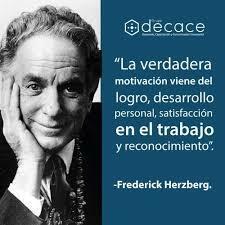 Frederick Herzberg - TEORÍA DE LOS DOS FACTORES