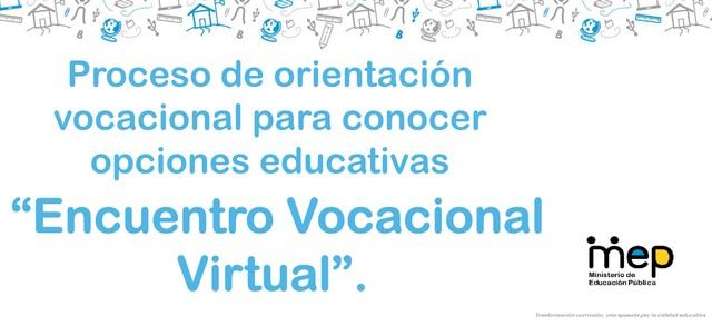 Encuentro vocacional virtual