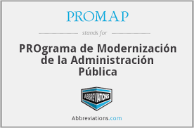 El Programa de Modernización de la Administración Pública (PROMAP)