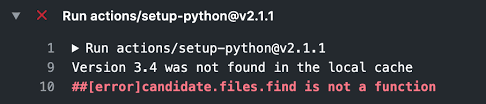 VERSION 3.4.10 Python