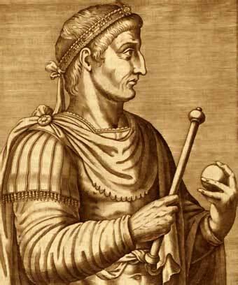 El emperador Constantino se convierte al cristianismo