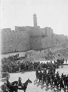 Fuerzas británicas liberan a Jerusalén
