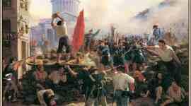 La Internacional Socialista y la Comuna de Paris. timeline