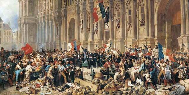 Asamblea de la comuna revolucionario.