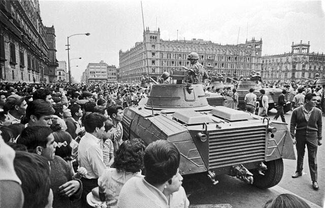 1968 Movimiento social en México
