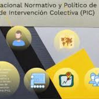 Contexto Nacional Normativo y Político de los Planes de Intervención Colectiva (PIC). timeline