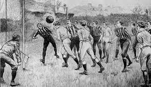 Indicios del futbol en Inglaterra