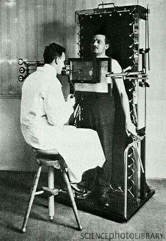 origen de la fluoroscopia