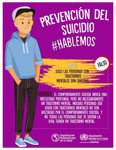 Campañas de prevención del suicidio