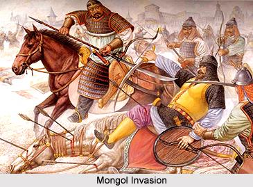 Invasión mongol a India