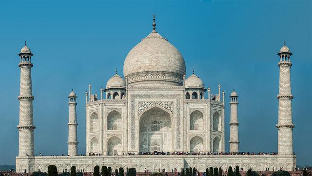 Creación del Taj Mahal
