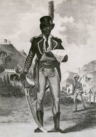L'Ouverture proclaims a new constitution in St. Domingue and is declared Governor for Life