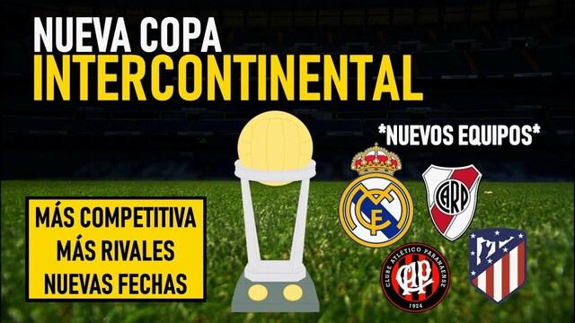 Copa Intercontinental, Copa Libertadores Sudamericana y La Liga de campeones Europea