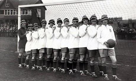 Surgimiento del futbol femenil