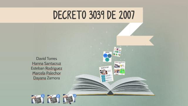 DECRETO 3039