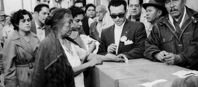 Las Mujeres Votan en México.