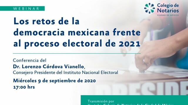 Democracia Mexicana Frente al 2021.