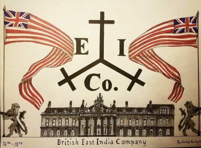 La Compañía Británica de las Indias Orientales construye su primera base en India