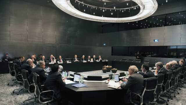 Primera reunión del International Football Association Board (IFAB)