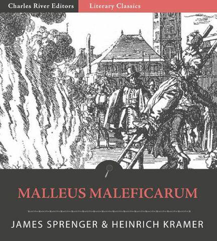 """""""El martillo de las brujas"""" (escrito) por: Sprenger, J & Kraemer, H."""