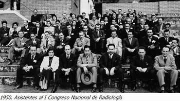 En el Primer Congreso Internacional de Radiología