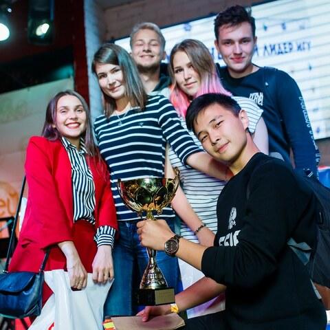 Победа на Кубке первокурсников