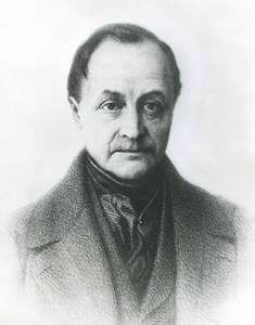 Auguste Comte (1798 - 1857)
