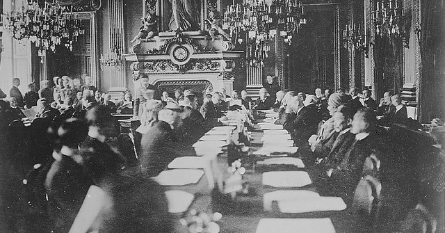 La Conferencia de Paz de París