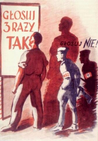 Sfałszowane wybory w Polsce