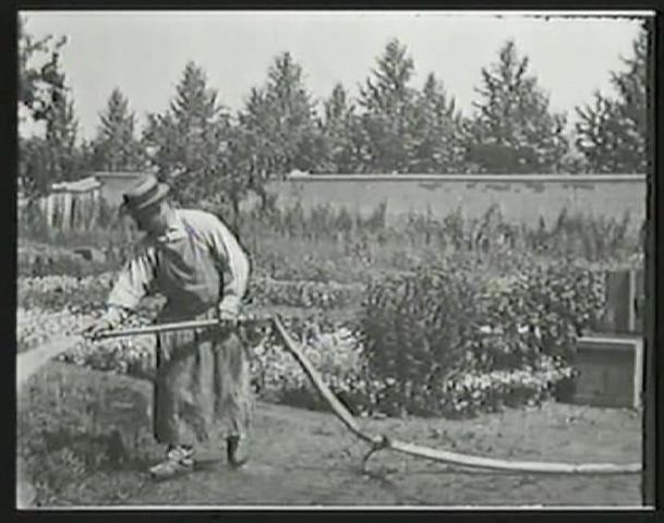 Silent Film - Watering the Gardener