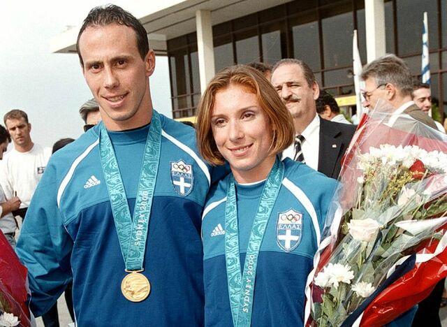 ΑΘΗΝΑ 2004- ΚΕΝΤΕΡΗΣ  ΚΩΝΣΤΑΝΤΙΝΟΣ- ΘΑΝΟΥ ΚΑΤΕΡΙΝΑ