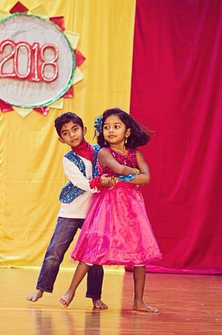 First Dance Performance on Stage
