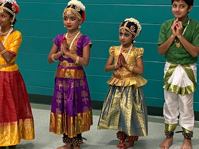 Bharatanatyam Dance Performance on stage