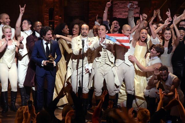 """Hamilton"" Grammy Award"