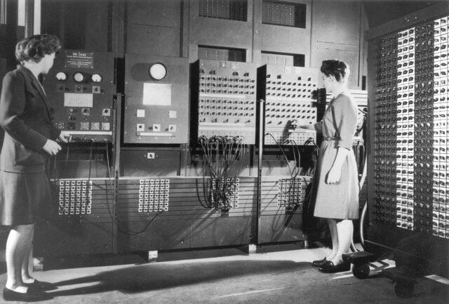 Primera computadora electrónica digital